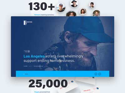 Everyone In homeless california los angeles everyone in united way website