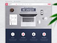 Digital agency web design & Html