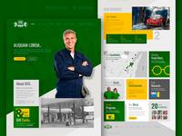 GCS clean web design & html