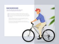 Presentation slide item design for BikeRadar APP/API