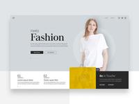FWRD Fashion web design & frontend development