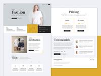 FWRD Fashion Web design & front-end development