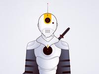 Robot Character illustration design