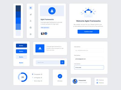Design Component concept design webapplication application product ux ui