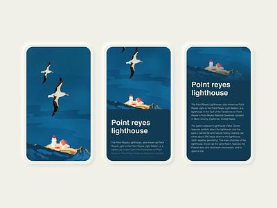 Illustration  and Mobile UI Concept concept responsive mobile website procreate illustration ill neomorphism graphic design ui
