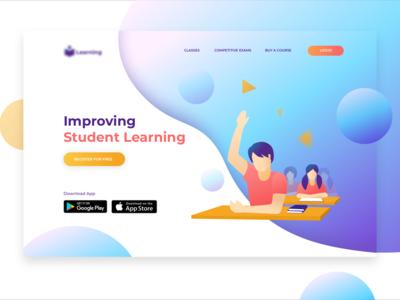 Concept Design for Student Learning Website