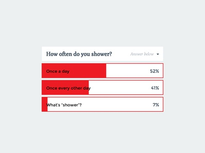 Daily UI - Day 27 interactive survey dropdown down drop ui daily