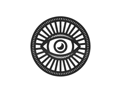 Goodnight! logo eye moon goodnight icon branding