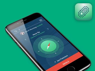Tripogather vacation service social travel app iphone app ux ui