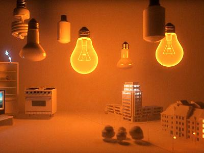 3d animation light still animation 3d