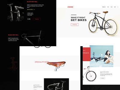 Mbike  website uiwebsite