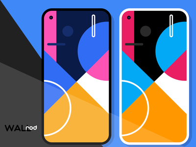 WallRod Update android app design material design pixel wallpapers minimal flat graphic  design graphic art dribbble developer design app android app android
