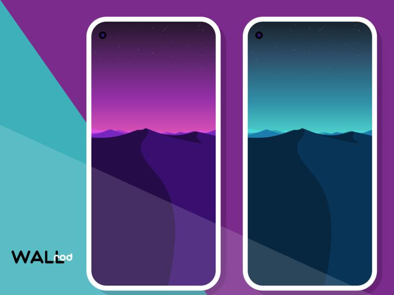 WallRod Update art illustration landscape design landscapes mimimal flat wallpapers graphic  design graphic art dribbble developer design app android app android
