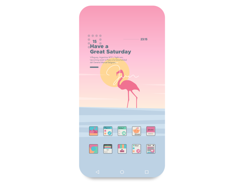 Apricity Icon Pack vector wallpapers icon icon artwork iconpack icon app new app new minimal illustrator illustration graphic  design graphic art flat dribbble developer design app android app android
