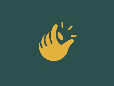 Finger snap vector illustration hand finger snap snap fingers illustration illustrator logodesign logo design logo