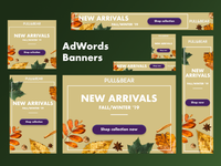 Web Banners Fall/Winter Collection
