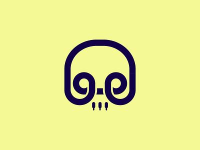Skullcandy🎧 logomark concept brandidentity skull earpods branding jack plug headphones skullcandy concept logomark logo