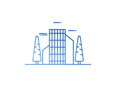 Office Building Illustration
