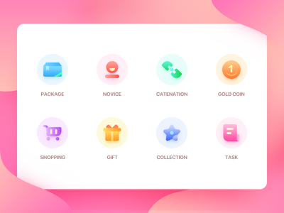 ICONS color ux ui icon
