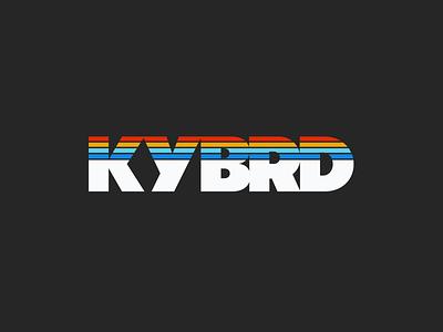 KYBRD logo typography branding logo graphic design