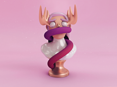 Amatista cgi design pictoplasma brand mixed agency illustration funk pop color