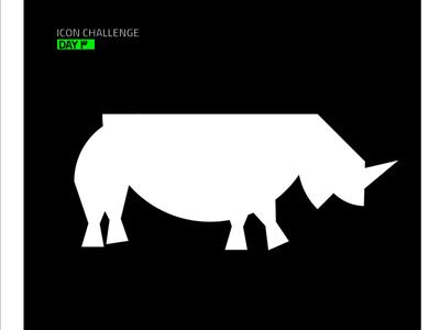 Rhino #2 brand identity rhinoceros rhino icon branding logo illustrator vector ui design illustration