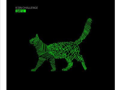 Cat #1 cat idea icon animation cartoon brand identity branding logo illustrator ui vector design illustration