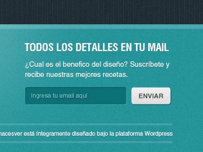 Footer Wordpress Theme