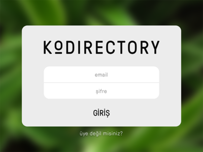 KoDirectory Login for Kolektif House forgot password email screen login labs directory house kolektif