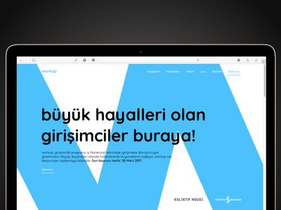 workup website exploration for iş bankası accelerator website bank