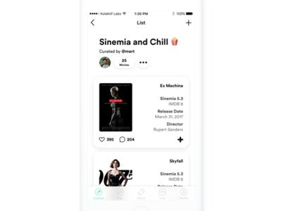 Movie Lists - Sinemia (and Chill) sinemia startup cinema movie ticket movies theatre
