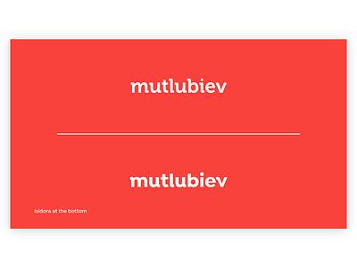Logotype Evolution - Mutlubiev design typeface branding font brand identity