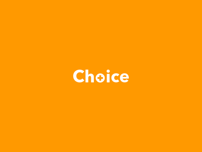 Amazon Private Brand - Choice Logotype cross identity brand monitor pressure glucose blood health wellness diabetes medical label amazon