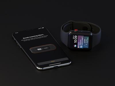 Amazon Private Brand - Choice Night Mode Exploration native shortcuts shortcut siri watch apple black oled dark monitor meter pressure glucose blood health medical