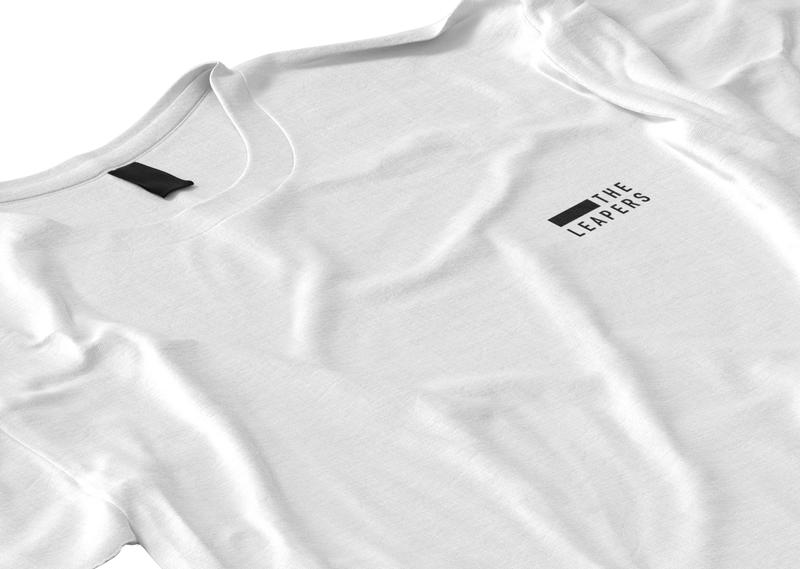 The Leapers Tee - Merch Design typography white black simple minimal design merchandise merch shirt tshirt t-shirt