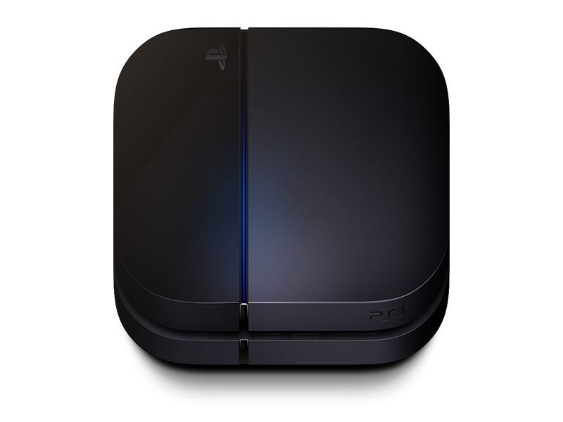 PS4 Appstore Icon ps4 icon apple sony playstation appicon matte appstore black ps