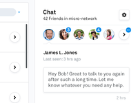 Micro-Network Chat