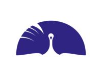 peacock library logo