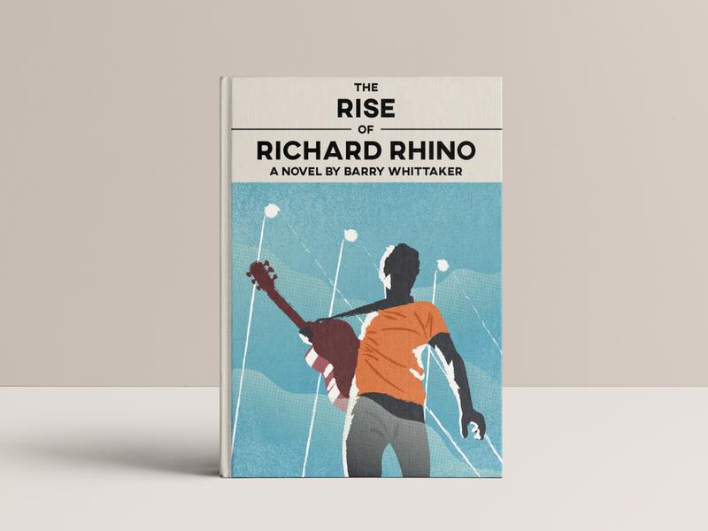Richard Rhino - Cover illustration book cover illustration cover illustration book cover book character design character sketch illustrator illustration drawing graphic design graphicdesign design artwork art
