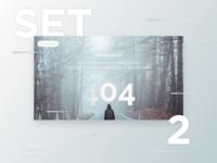 Free Daily UI - Set 2