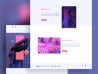 Design - Aeforia page