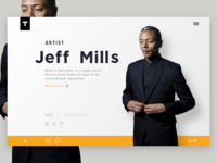 Techno artist - Jeff Mills
