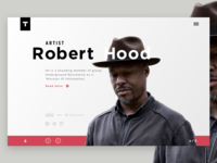 Techno artist - Robert Hood