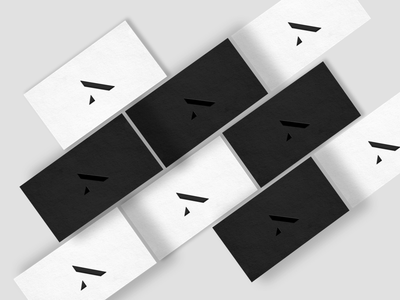 New personal logo businesscards a clean minimal logo personal brand