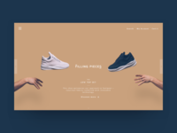 Filling Pieces - landing page