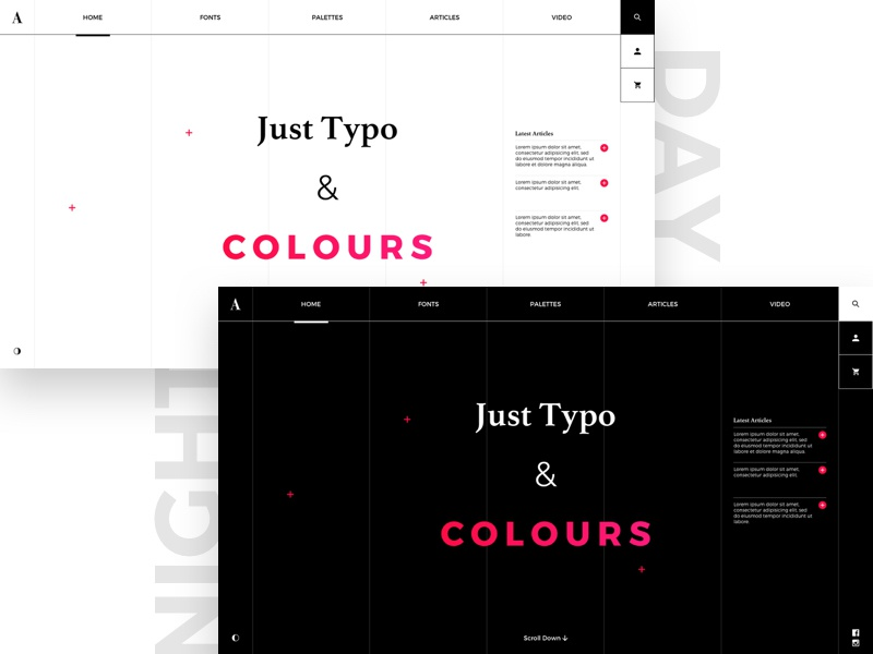 Just Typo & Colours