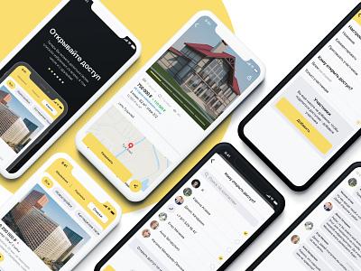 Test task for Yandex ui design ios uiux ui