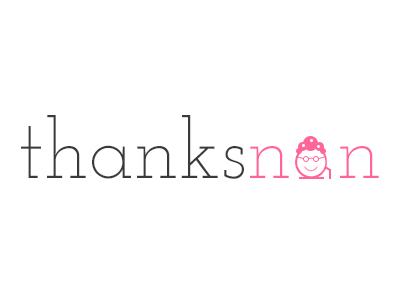 Thanks Nan Logo