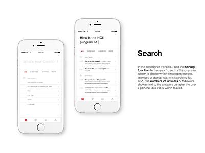 Quora Search redesign redesign visual design uiux quora