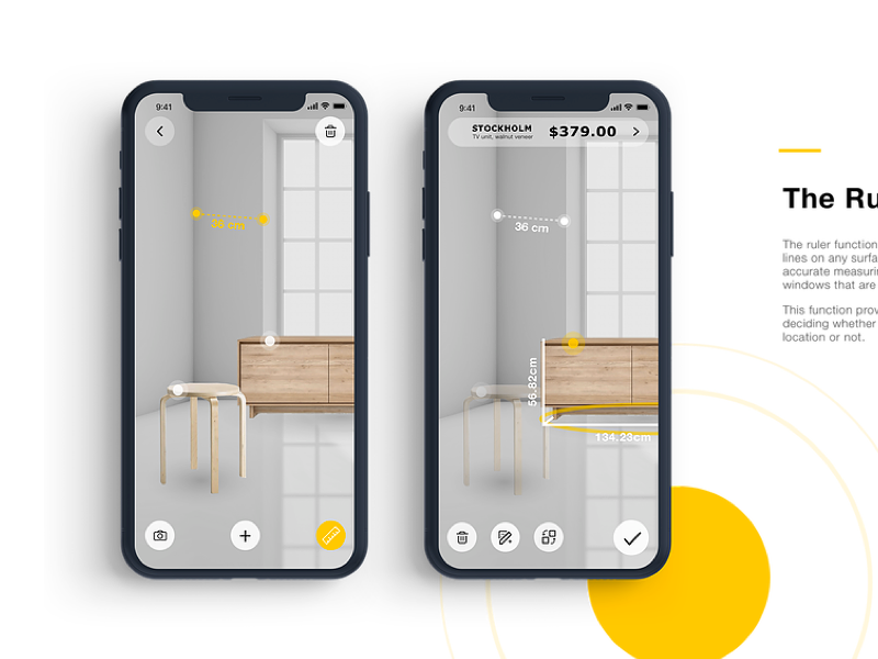 Ikea Place Redesign by Xinbei H on Dribbble